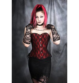 Over Lace Corset W/ Side Lace