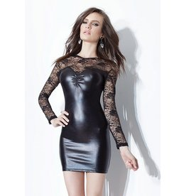 Wetlook W/Ls Lace Mini Dress
