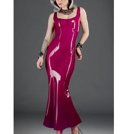 Polymorphe Latex Evening Gown