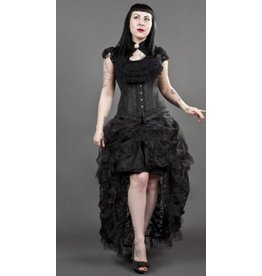 Elvira Long Organza Goth Skirt