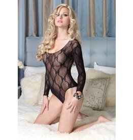 Bow Lace Ls Teddy