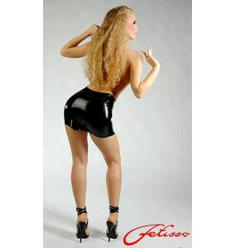 Latex Molded Mini Skirt