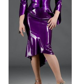 Latex Orchid Skirt