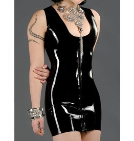 Latex Elegance Dress