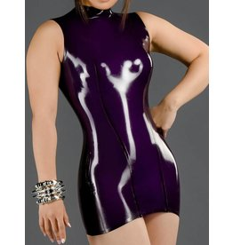 Latex Princess-Line Dress