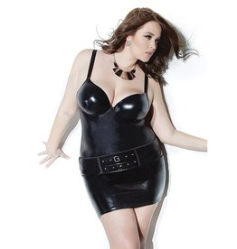 Wetlook Duo Buckle Skirt