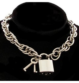 Chain Collar with Lock