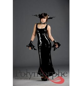 Polymorphe Latex Cocktail Evening Dress