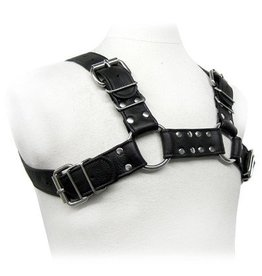 Kookie Garment Leather Bulldog Harness