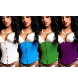 Black Iris Hourglass Dyeable Cincher
