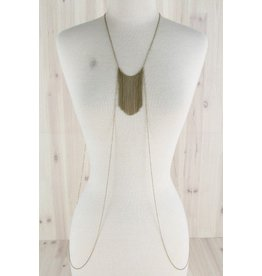 Dainty Fringe Body Chain