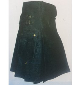 "23"" Denim Utility Kilt"