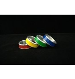 Color Stripe Aluminum Cock Ring