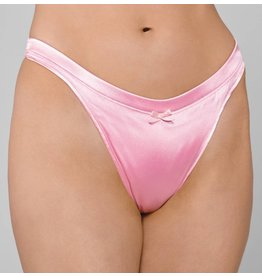 Comfort Smooth Thong Hiding Gaff Satin