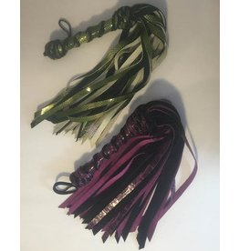 Combo Flogger with Spiral Handle