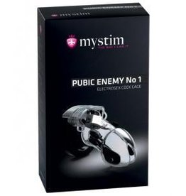 Mystim Pubic Enemy #1 E-Stim Cock Cage