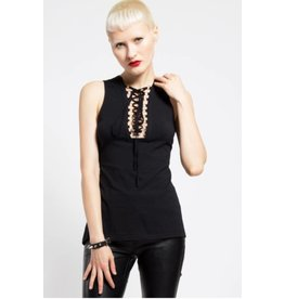 Laced Neck Tank