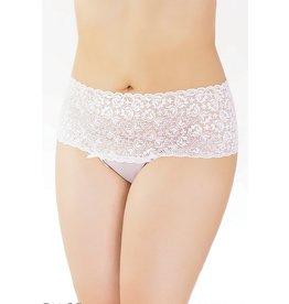 Hi-Waist Lace Thong