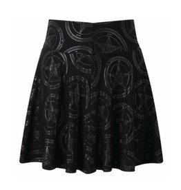 Baphomet Skater Skirt