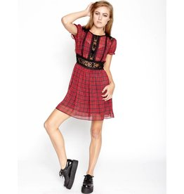 Sweet Plaid Tart Dress