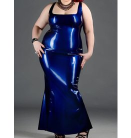 Polymorphe DP Latex Evening Gown