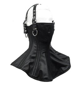 Leather Neck Corset w/ Head Straps