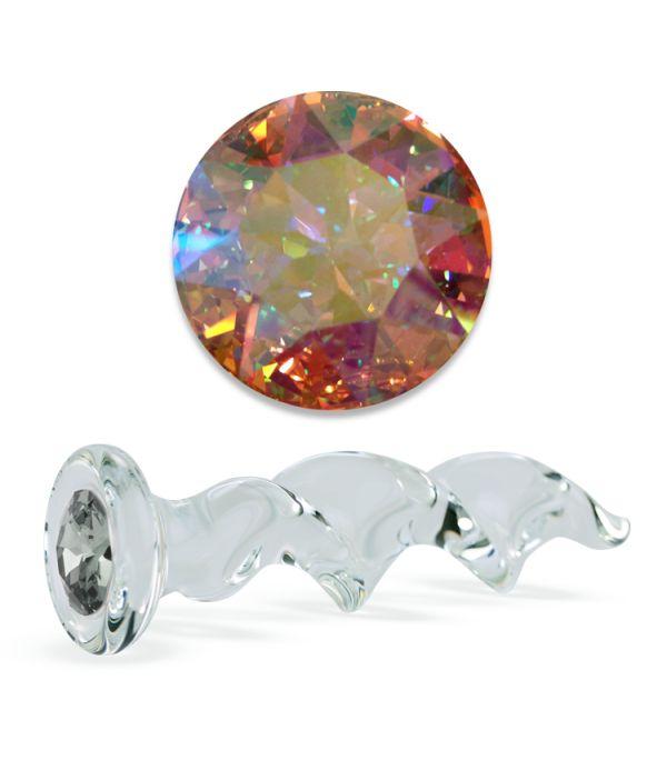 Crystal Twist Delight Dildo