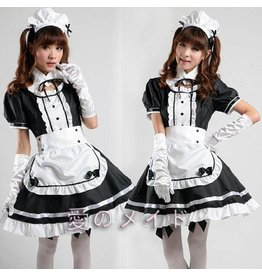 4 pc. Anime Maid Uniform