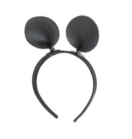 Little Leather Mouse Headband
