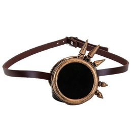 Steampunk Spiked Monocle Goggle