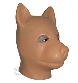 Latex Dog Hood