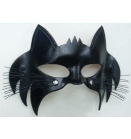 Kitty Molded Leather Mask