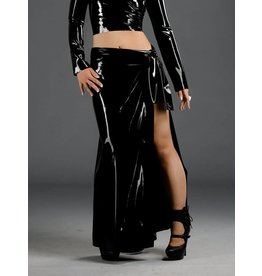 DP   Latex Pareo Skirt