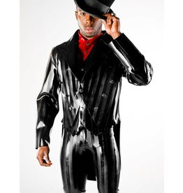 Polymorphe DP Striped Latex Tuxedo Jacket