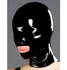 DP Latex Hood w/ Nose Holes & Open Mouth