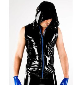 DPLatex Hooded Vest W/Zip