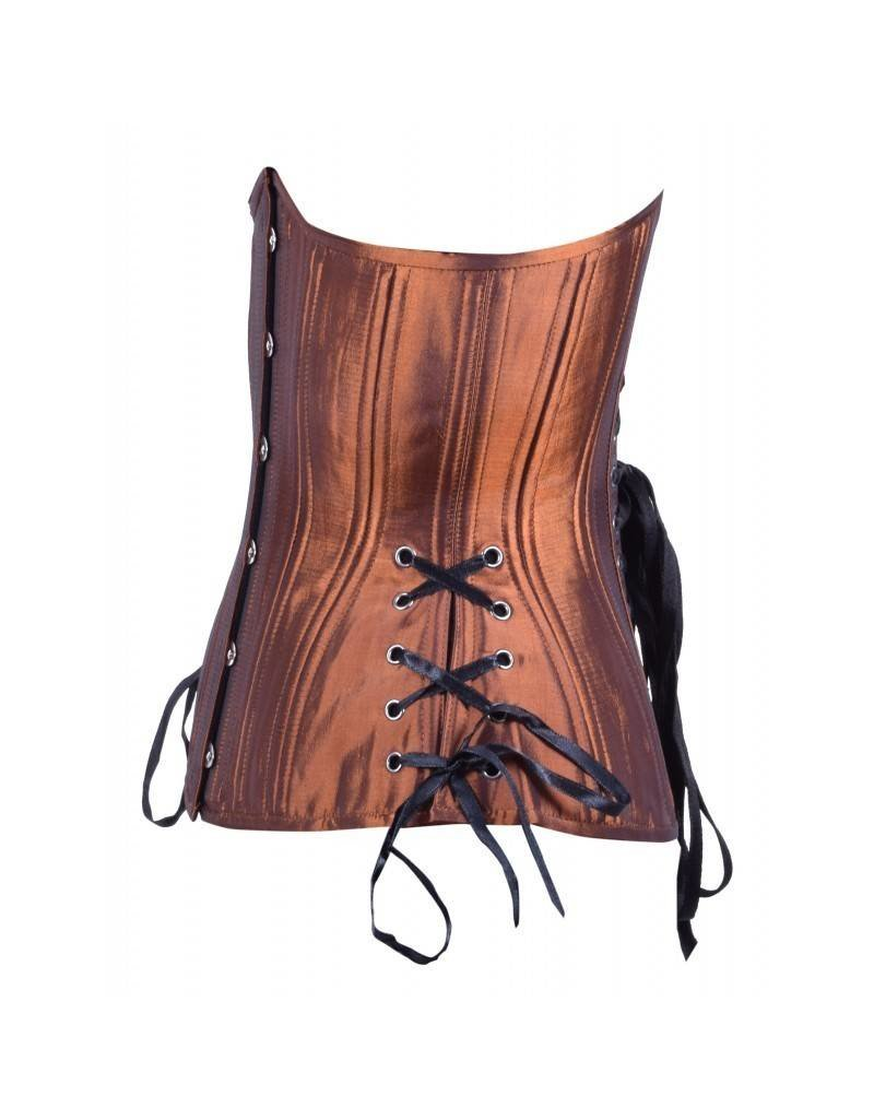Rust Hourglass Long Cincher