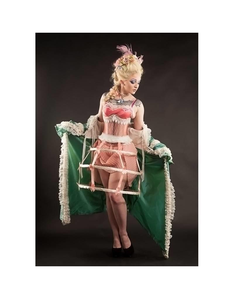 Victorian Cream Lace Cincher