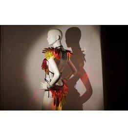 Illuminated Phoenix Shoulders