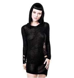 Soulstorm Distress Hood Dress