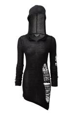 Soulstorm Distress Hood Dress