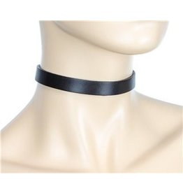 Discreet Leather Choker