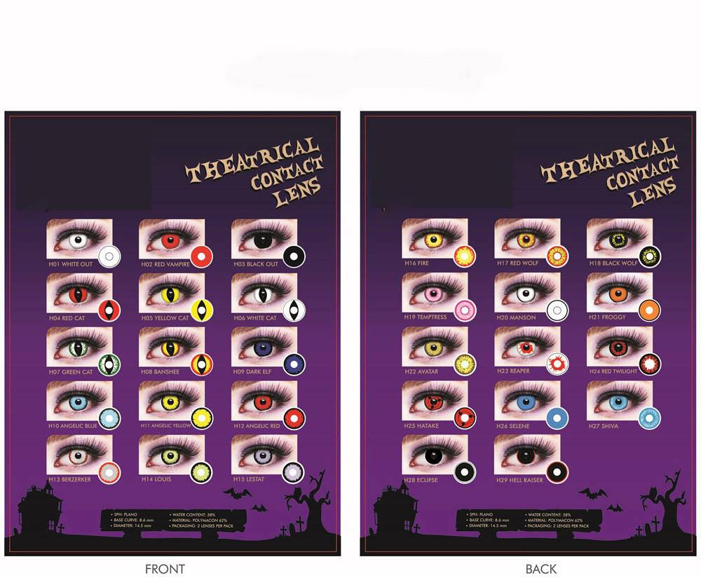 Theatrical Fx Contact Lens