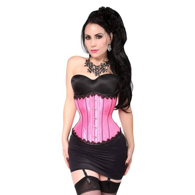 Lace Trimmed Waist Trainer