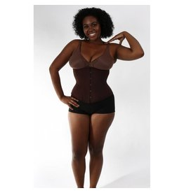 Chocolate Hourglass Cincher