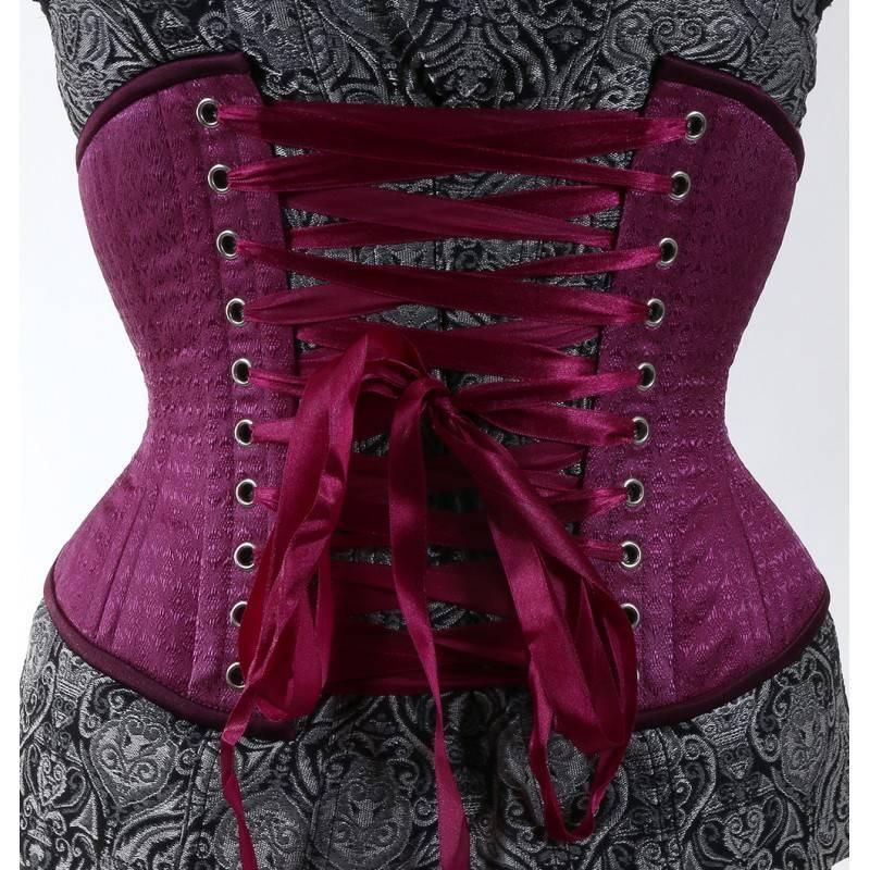 Curvy Purple Short Cincher