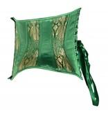 Emerald Brocade Curvy Short Cincher