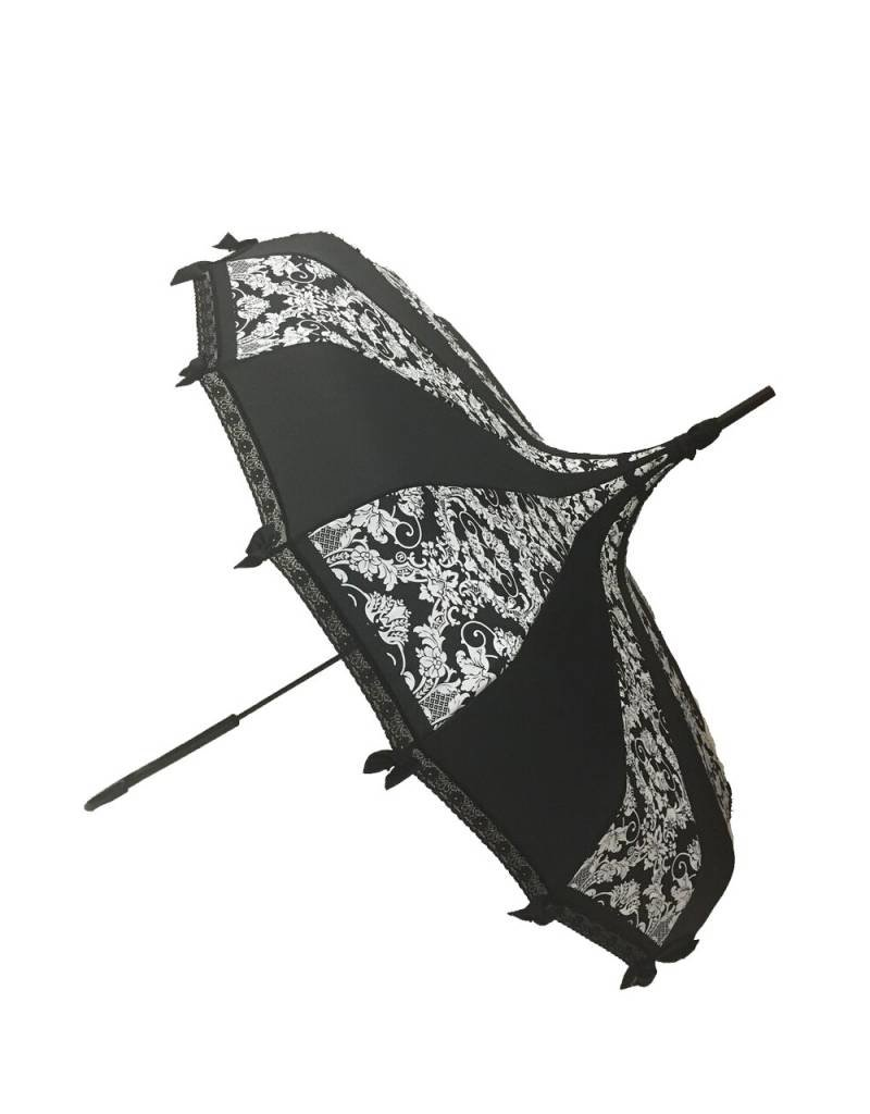Hilary's Lace Trimmed Umbrella