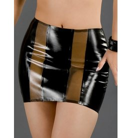 DP  Latex Coquette Skirt