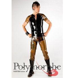 DP Latex Raglan T-Shirt W/Zipper